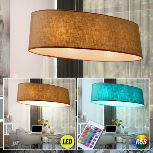LED Tisch Steh Lampen Textil RGB Fernbedienung Decken Wand Hänge Big Light