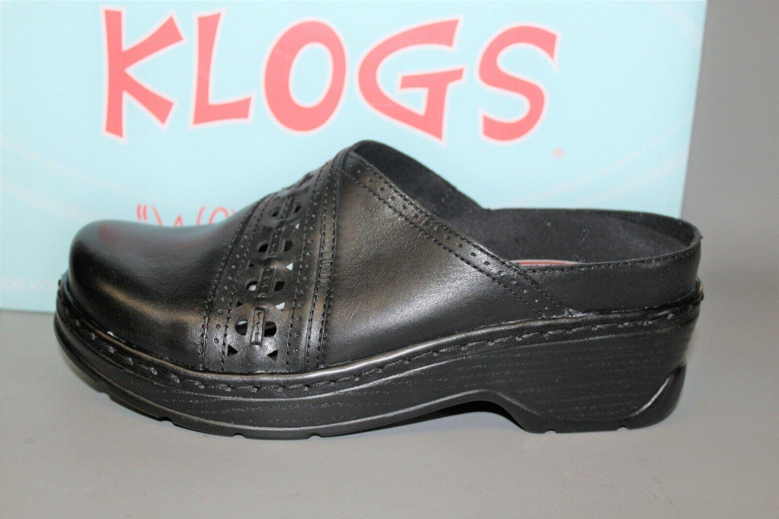 Wouomo Klogs Syracuse Dimensione 10 Medium nero Comfortable, Supportive Casual Clog