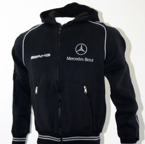 Mercedes AMG Capuche Polaire Veste Fleece Jacket Blouson Chaqueta Giacca Cadeau