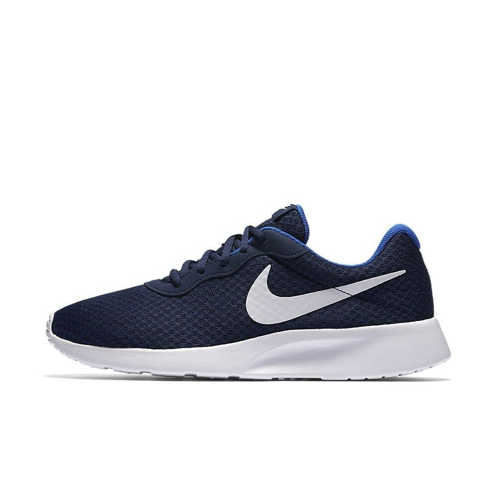 Comfortable and good-looking Nike Men Tanjun Casual Shoes Navy White Blue 812654-414 US7-11 04'