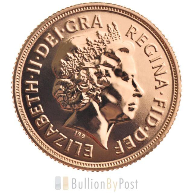 Full Gold Sovereign - Elizabeth II, Old Head