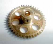 42 Tooth Super Light Brass Spur Gear set screw 48 Pitch NOS Slot Car 1/24 1/32