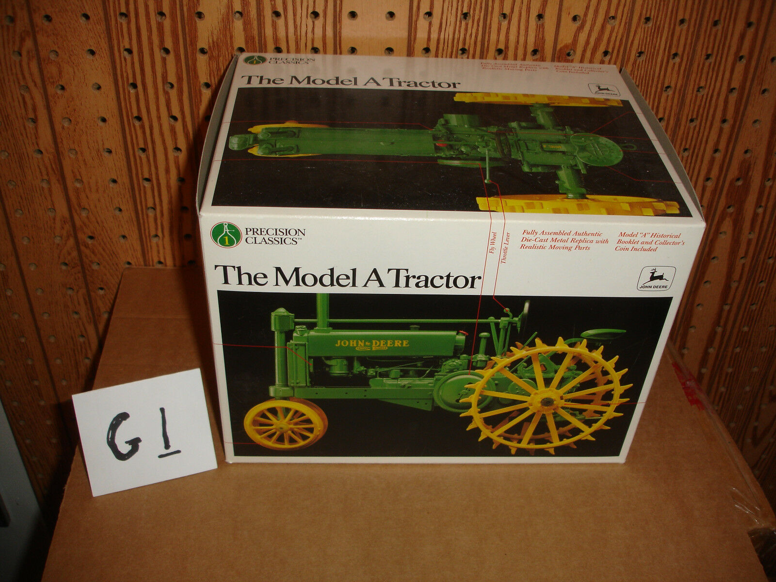 1/16 john deere precision a toy tractor
