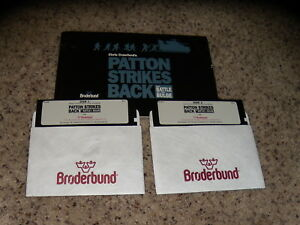 Chris-Crawford-039-s-Patton-Strikes-The-Battle-of-the-Bulge-IBM-Tandy-PC-5-25-034-disk
