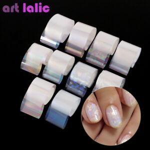 10-Holographic-Nail-Art-Foil-Set-Gradient-Transparent-AB-Color-Transfer-Sticker