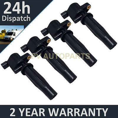FOR FORD FOCUS GALAXY MAVERICK MONDEO S-MAX TRANSIT 1.8 2.0 IGNITION COILS X4