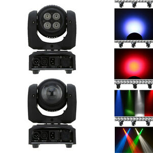 2 Sides 40W 10W Wash Beam LED DJ Light DMX512 Moving