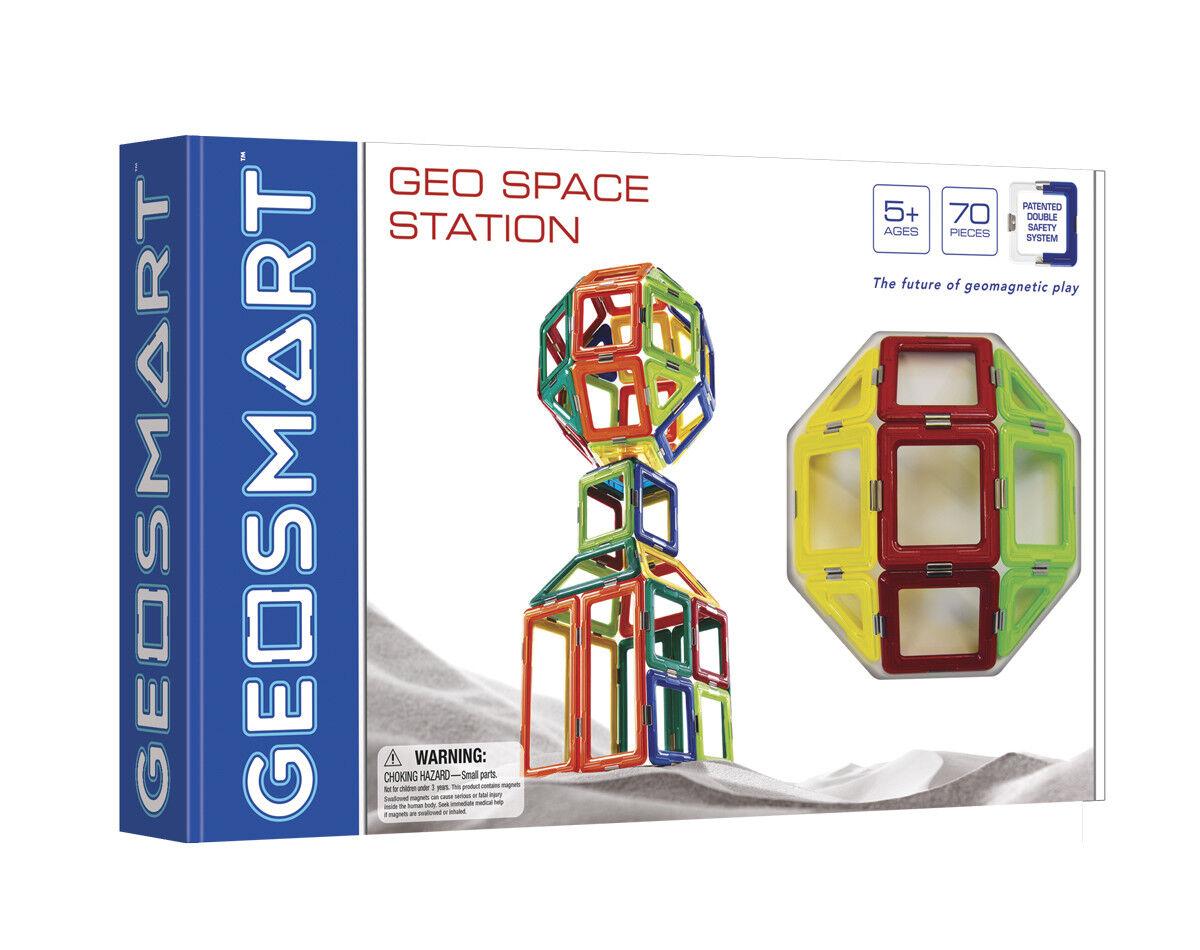 Estación espacial de Geo-geosmart geomagnético Play - 70 piezas conveniente para las edades 5+