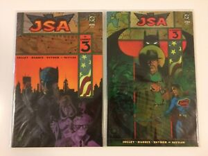Complete-Set-JSA-The-Unholy-3-1-2-DC-Comics-2003-VF-NM