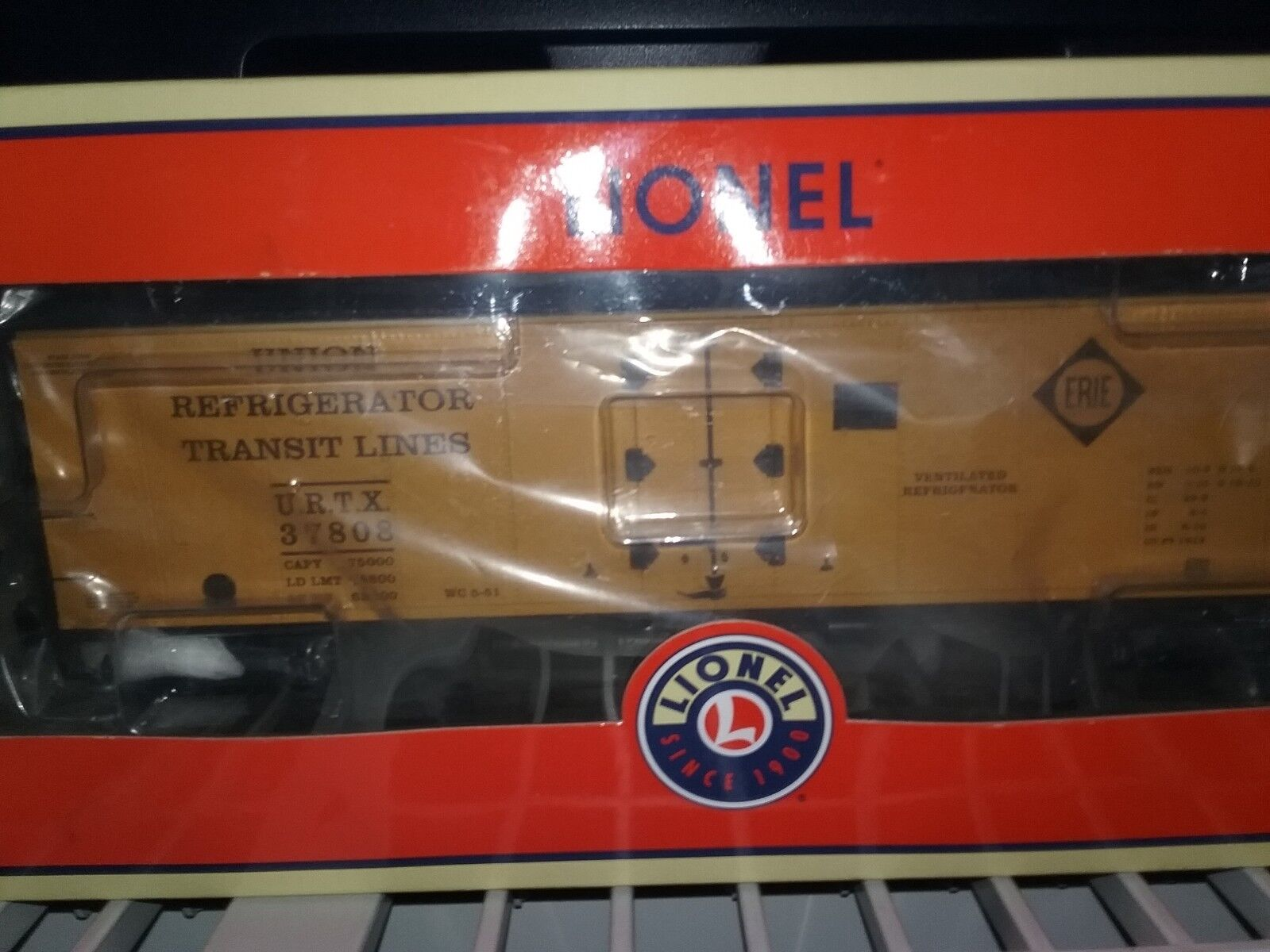 Lionel 6-27364 erie urtx steel-sided joints