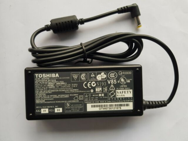 GENUINE TOSHIBA SATELLITE PA3467U-1ACA POWER SUPPLY CHARGER 19V 3.42A