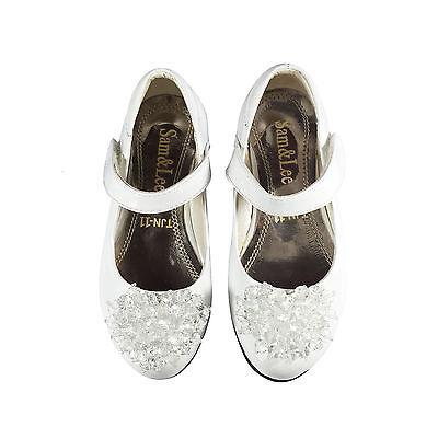 Girls Toddler Kids Children Wedding Bridesmaid Party Low Heels Sandals Shoes