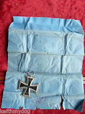 Original WW1 German Iron Cross & Matching Maker Marked packet-Both Marked K