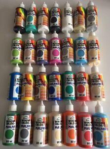 Window Color 5er Set aus 27 Farben frei wählbar 5 x 80ml Fenstermalfarbe