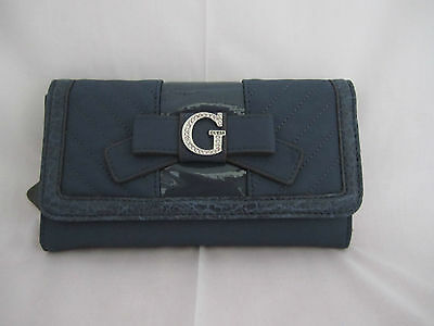 Guess Taluca SLG Checkbook Wallet FF282738  Cloth /& Faux Leather NEW