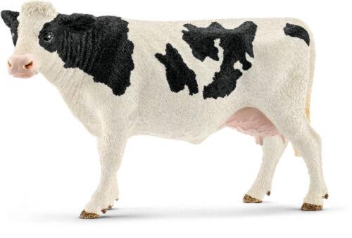Fleckvieh-Kuh Schwarzbunt Schleichtiere Schleichtier Kuh Schleich 13797 W2