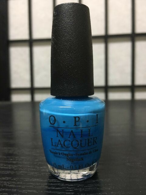 Opi B93 Ogre The Top Blue Nail Polish Lacquer 15 Ml 5 Fl Oz