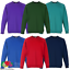 Fruit-Of-The-Loom-CHILDREN-039-S-RAGLAN-SWEATSHIRT-PREMIUM-BOYS-GIRLS-SCHOOL-SIZES thumbnail 1