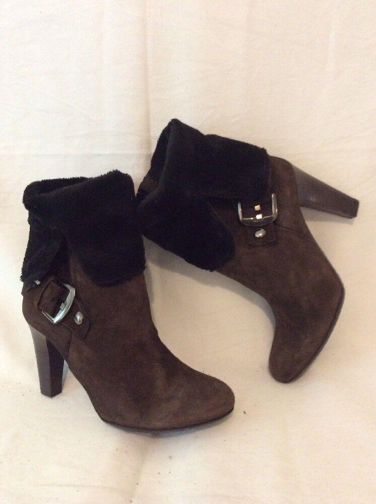 Bata braun Ankle Leather Stiefel Größe 37