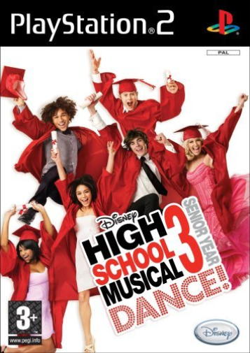 Playstation 2-High School Musical 3: Senior Year Dance  GAME NEW