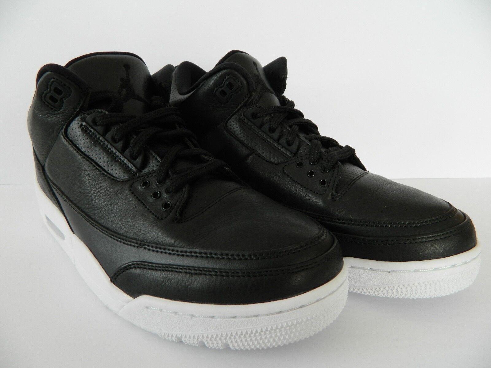 Nike Air Jordan 3 Retro ( Black/Black-White) ( 136064 020 ) NIB
