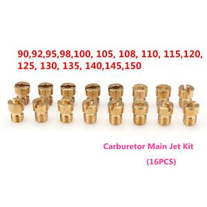16x-Injecteur-Gicleur-Principal-Carburateur-pour-PWK-Keihin-OKO-CVK-92-98-150