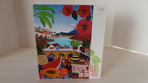 Ceaco 550-Piece Jigsaw Puzzle - Tropicale - Raul del Rio art - NEW/Unopened!