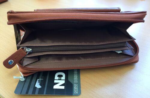 Portemonnaie Geldbörse Brieftasche Geldbeutel Geldtasche braun ND 98199