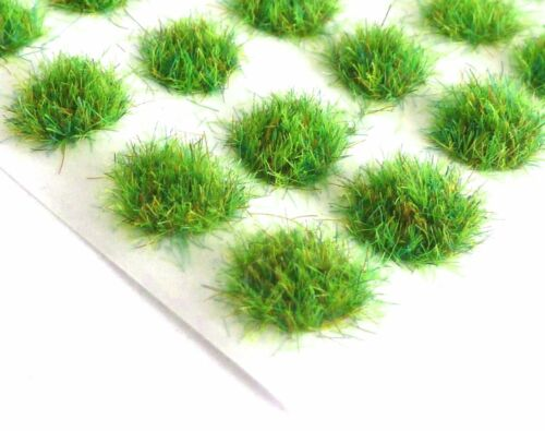 Small 2mm Static Grass Tufts Self Adhesive 28mm Wargames Bases Terrain Scenery