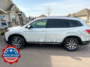2016-2020-Honda-Pilot-Chrome-Flat-Lower-Body-Side-Molding-Trim-Cladding-Accent
