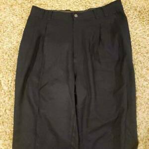 Tommy-Bahama-Womens-Dress-Career-Pants-Blue-Pleated-Front-Pockets-100-Silk-33