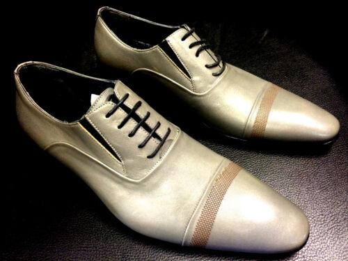 Shoes Pablo Picasso Italienische Grey Grau Handmade Business Designer Schuhe wwaqdnrP8