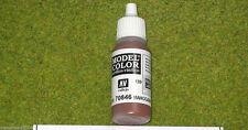 Vallejo Model Color MAHOGANY BROWN Acrylic Paint 70846