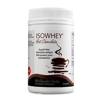 IsoWhey Hot Chocolate Powder 210g