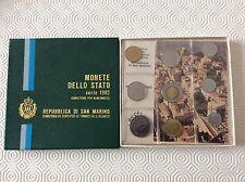 Saint Marin Coffret de 9 pièces Série Complète 1982