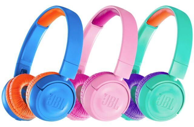 Jbl Jr300bt Kids Wireless Bluetooth Safe On Ear Headphones Earphones Tropic Teal For Sale Online Ebay