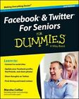 Facebook & Twitter for Seniors For Dummies by Marsha Collier (Paperback, 2014)