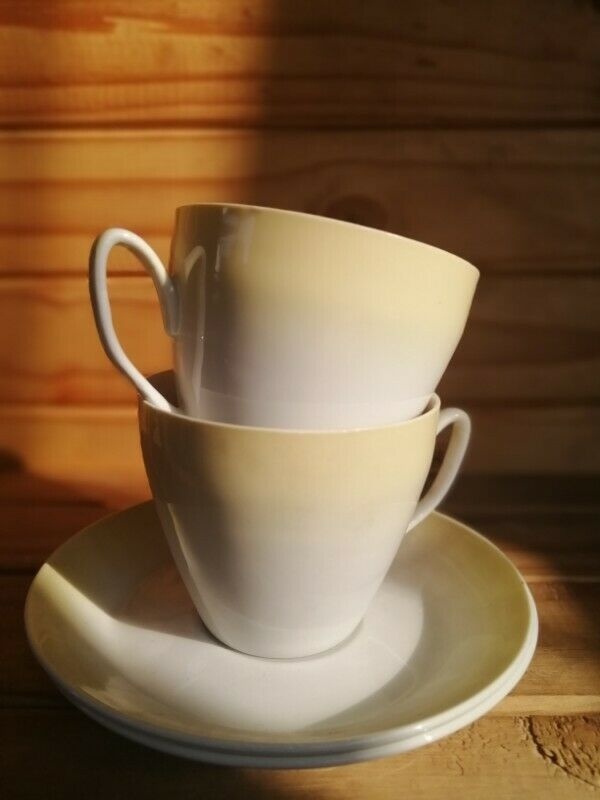 2 X Cups and saucers