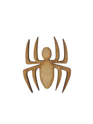 8x Spiders 4cm Wood Craft Embelishments Laser Cut Shape MDF