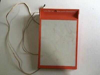 Vintage Betsy Mccall Fashion Designer Light Box Tested Works Fine Ebay
