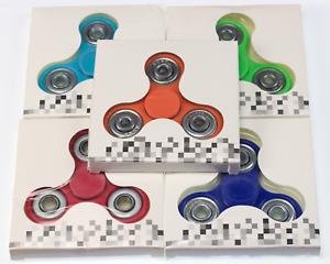 5 PACK Hand Spinner Tri Fidget Spinner Ceramic Focus Toy Kids//Adult 5-Multi