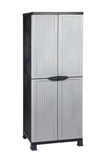 2 Stuck Kunststoffschrank Haushaltsschrank Balkonschrank Schrank