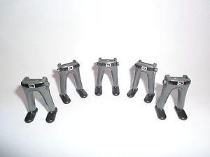 Playmobil 5 Garde Beine Hose grau Gürtel Schuhe schwarz Royal Gardisten Falte