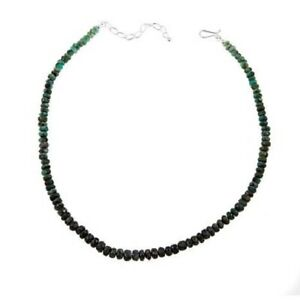 Jay-King-Emerald-Bead-Sterling-Silver-19-1-4-034-Necklace-HSN-SOLD-OUT-230