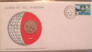 Coins of All Nations Jersey 2 pence 1980 UNC