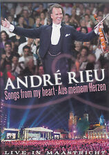 ANDRE RIEU Songs From My Heart - Aus Meinem Herzen DVD All Zone - PAL
