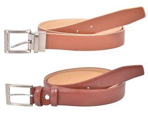 New Mens Real Leather Designer Reversible   Fashion Belt Jeans Metal ... 5765e18fd56