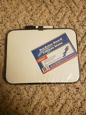 Magnetic Dry Erase Whiteboard Marker 2 Magnets For Fridge Locker Black 85x11