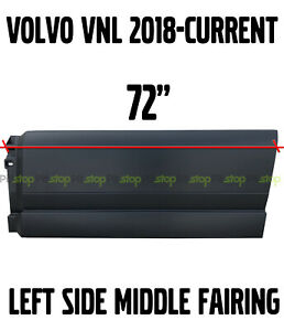 VOLVO VNL TRUCK 2018 2019 2020 STEP SIDE FAIRING PANEL 44 REAR LEFT DRIVER