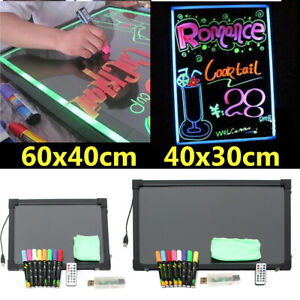 LED-Light-Up-Drawing-Writing-Board-UK-Remote-Sensory-For-Child-Kid-Toy-Austim-UK